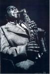 Charlie Parker, Pastellkreide 59 x 88 cm